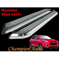 Hyundai ix35 Side Steps Running Boards Aluminium 2010 - 2015 (CMP94)