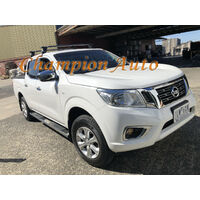 Nissan Navara NP300 D23 4'' Stainless Steel U.S Style Side Steps Dual Cab 2015+