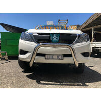 "Mitsubishi Triton Nudge Bar MN/ML 2006-2015 3"" Stainless Steel"