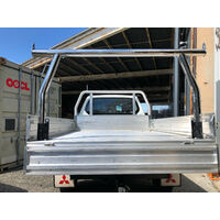 =Out Of Stock =Ladder Rack Universal Fit Tray - Width Adjustable, H 940mm