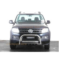 "VW Amarok Nudge Bar 3"" Stainless Steel 2010-2018 with fog light mounting tabs"