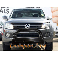 VW Amarok Low Loop Nudge Bar 2005-2017 3.5'' Black Powder Coated Steel