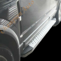 Isuzu MUX MU-X Side Steps Running Boards Aluminum 2013 - 2018 (CMP16)
