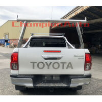 3'' Aluminium Ladder Rack fit Toyota Hilux 2005-2017 TUB Silver
