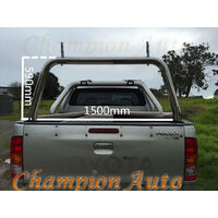 3'' Stainless Steel Ladder Rack fit Toyota Hilux SR5 A-deck only 2015-2018 TUB