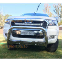 Ford Ranger Tech Pack&Front Sensors PX MKII 2012-2018 Stainless Steel Nudge Bar