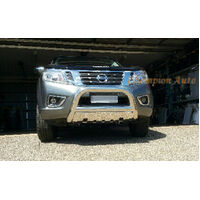 Nissan Navara NP300 D23 2015 2016 2017 2020+  3.5'' Nudge Bar Stainless Steel