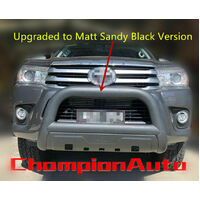 Ford Everest Nudge Bar Ambiente ONLY  2012-2018 3.5 '' Black Powder Coated Steel