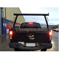3'' Aluminium Ladder Rack Holden Colorado,Isuzu DMAX D-Max 2006-2018 TUB BLACK