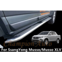 SsangYong Musso / Musso XLV Dual Double Cab 4 DOORS Side Steps 2019+ (CMP94)