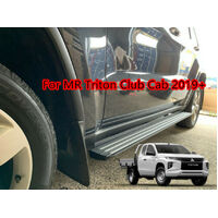 Club Cab Alloy Side Steps FOR Mitsubishi Triton MR Club Cab 2019+ (LD)