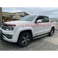 Volkswagen Amarok Side Steps Running Boards Aluminium 2010- 2020 (CMP15)