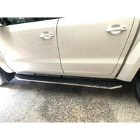 Dual Cab Side Steps Running Boards for Totota Hilux Workmate 2018-2019 (CMP88)