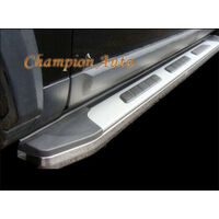 Nissan Navara D22 Double Cab Side Steps Running Boards 2001-2015 (CMP15)