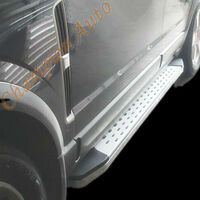 Holden Colorado Space Cab Aluminum Side Steps Running Boards 2012-2018 (CMP16)