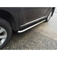 Space Cab Holden Colorado Side Steps Running Boards Aluminum 2012 - 2018 (CMP36)