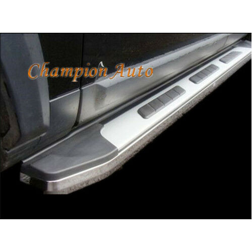 Space Cab Isuzu D-max Dmax Side Steps Running Boards Aluminum 2012-8/2020(CMP15)